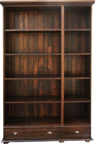 Regał Drewniany Rdm 3b120 Regał Z Drewna Biurowe Regały Pokojowe