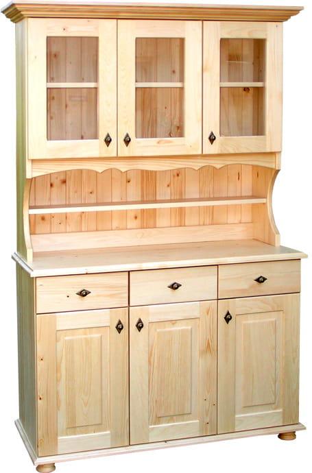 Stylowy Kredens Drewniany Krm 21200 Sosnowy Do Pokoju Kredens