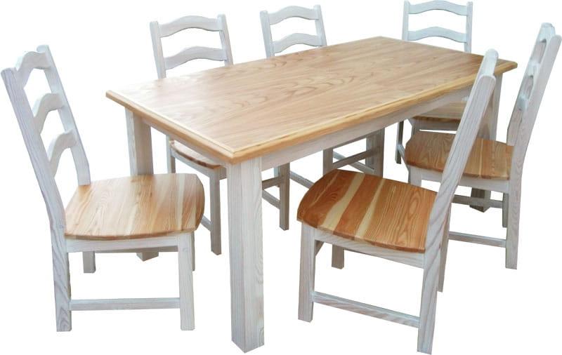 Stół Drewniany Stm 4 Z Drewna Litego Rozkładany Stół Drewniany Do
