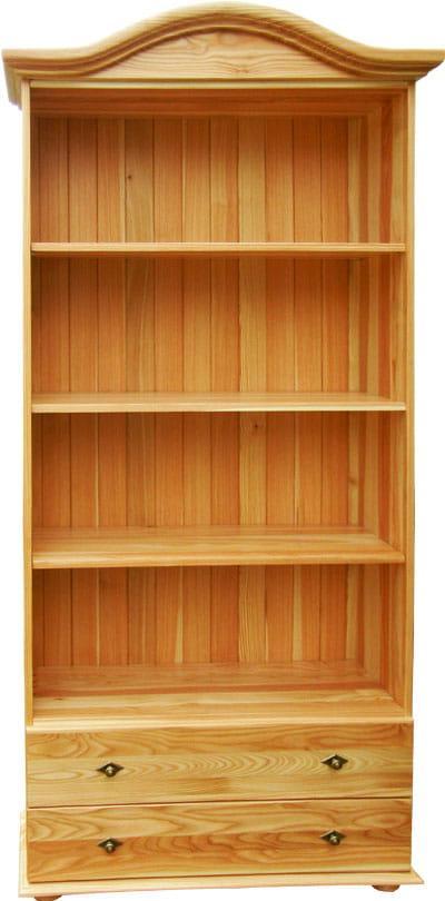 Regał Drewniany Rdm 1c Regał Z Drewna Biurowe Regały Pokojowe Do